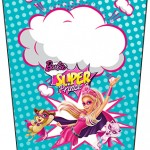 Bisnaga Flip Top Barbie Super Princesa