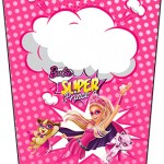 Bisnaga Flip Top Barbie Super Princesa Rosa