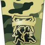 Bisnaga Flip Top Kit Militar Camuflado