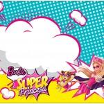 Bolinha de Sabão Barbie Super Princesa