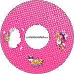 CD DVD Barbie Super Princesa Rosa
