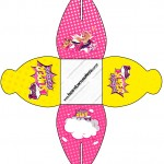 Caixa Barbie Super Princesa Rosa