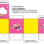 Caixa Bis Barbie Super Princesa Rosa