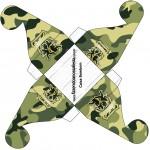 Caixa Bombom Kit Militar Camuflado