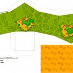 Caixa Casinha Dinossauro Cute