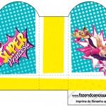 Caixa Coração Barbie Super Princesa