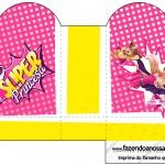 Caixa Coração Barbie Super Princesa Rosa