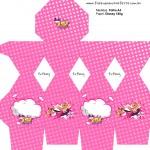 Caixa Meia Bala Barbie Super Princesa Rosa