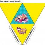 Caixa Pirâmide 2 Barbie Super Princesa