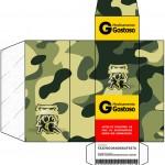Caixa Remédio Kit Militar Camuflado