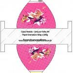 Caixa Vestido Barbie Super Princesa Rosa