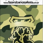 Mini Pastilha Docile Kit Militar Camuflado