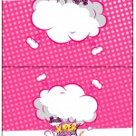 Cartão Agradecimento Barbie Super Princesa Rosa