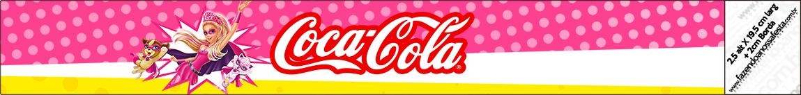 Coca-cola Barbie Super Princesa Rosa