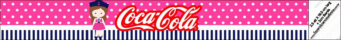 Coca-cola Menina Marinheira