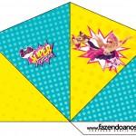 Cone Guloseimas 4 lados Barbie Super Princesa