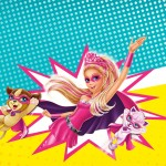 Convite Barbie Super Princesa Rosa
