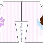 Convite Camisa Batizado Anjinha Afro