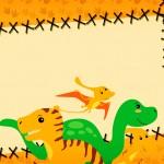 Convite Dinossauro Cute 4