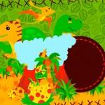 Dinossauro Cute – Kit Festa Grátis