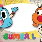 Convite Festa O Incrível Mundo de Gumball