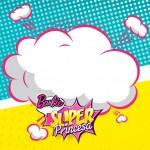 Convite Super Princesa Rosa