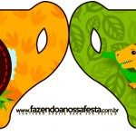 Convite Xícara Dinossauro Cute