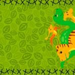 Convite para Festa Dinossauro Cute