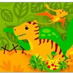 Copo Brigadeiro Dinossauro Cute