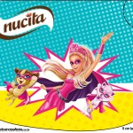 Creminho Nucita Barbie Super Princesa