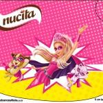 Creminho Nucita Barbie Super Princesa Rosa