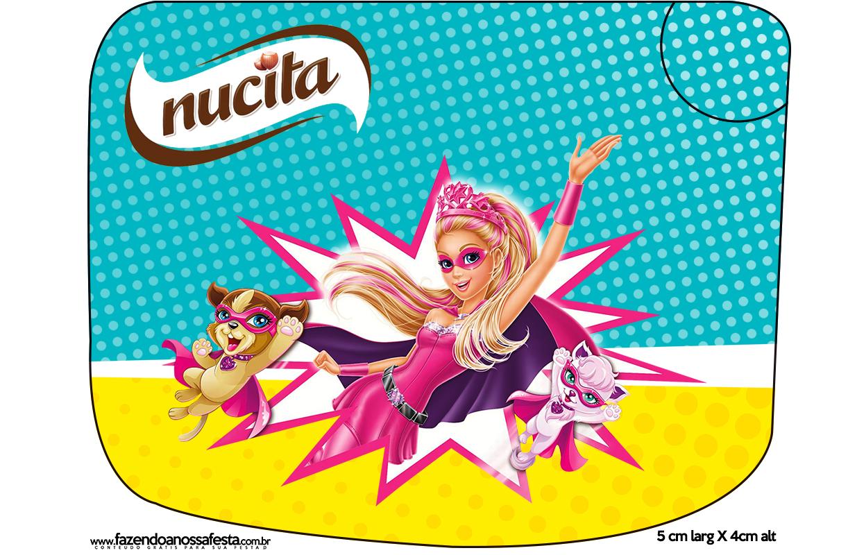 Creminho Nucita Barbie Super Princesa