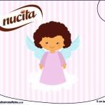 Creminho Nucita Batizado Anjinha Afro