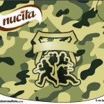 Creminho Nucita Kit Militar Camuflado