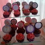 Cupcakes Festa Gatinha Marie Anna Laura