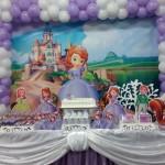 Decoração da Festa Linda Festa Princesa Sofia da Lavínia