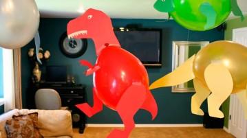 Dinossauro de balão T-Rex