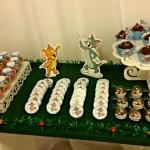 Doces Festa Páscoa Tom e Jerry