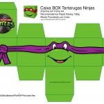 Donatello Caixa Quadrada Tartaruga Ninjas