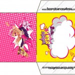 Envelope CD DVD Barbie Super Princesa Rosa