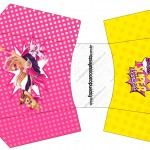 Envelope Fritas Barbie Super Princesa Rosa