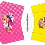 Envelope Fritas Barbie Super Princesa Rosa