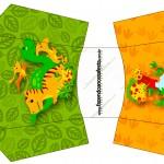 Envelope Fritas Dinossauro Cute