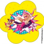 Flor Barbie Super Princesa
