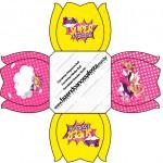Forminhas Docinhos Flor Barbie Super Princesa Rosa