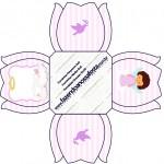Forminhas Docinhos Flor Batizado Anjinha Afro