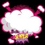 Frame Barbie Super Princesa Rosa