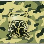 Lata de Leite Kit Militar Camuflado