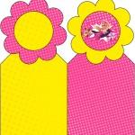 Marcador de Páginas Barbie Super Princesa Rosa