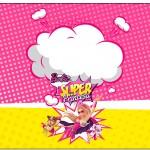 Marmita 500gr Barbie Super Princesa Rosa